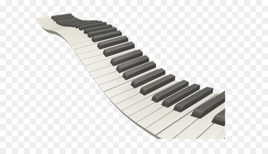 Piano Musical Keyboard Clip Art Wavy Piano Keys Png Png Download