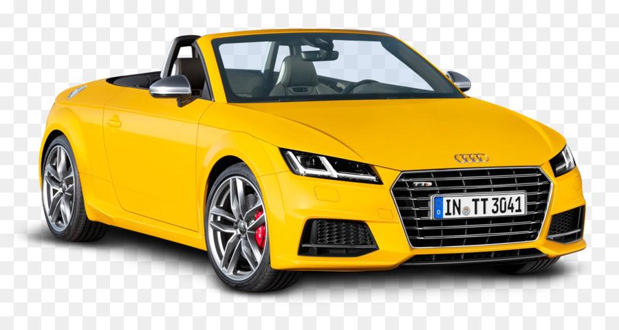 2015 Audi Tts 2014 Audi Tt Car Yellow Audi Tts Roadster Car Png