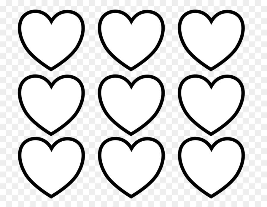Sevgililer Günü Kitap Kalp Küçük Resim Boyama Mini Kalp