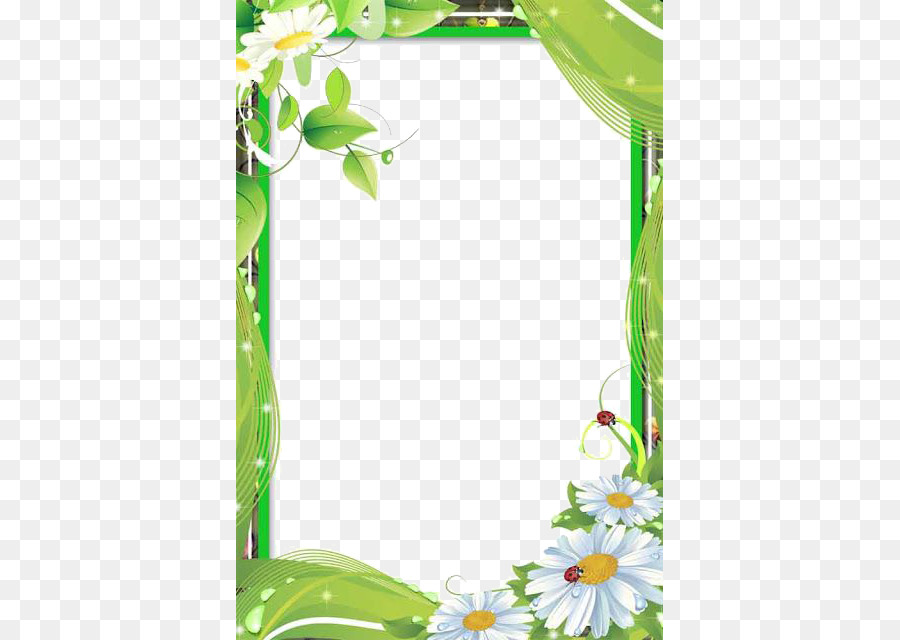 El papel de marco de Foto de la Flor Clip art - El amor de Marco PNG ...