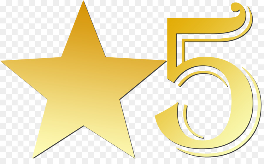 Star Clip art - 5 Star Rating Cliparts png download - 1024 ...