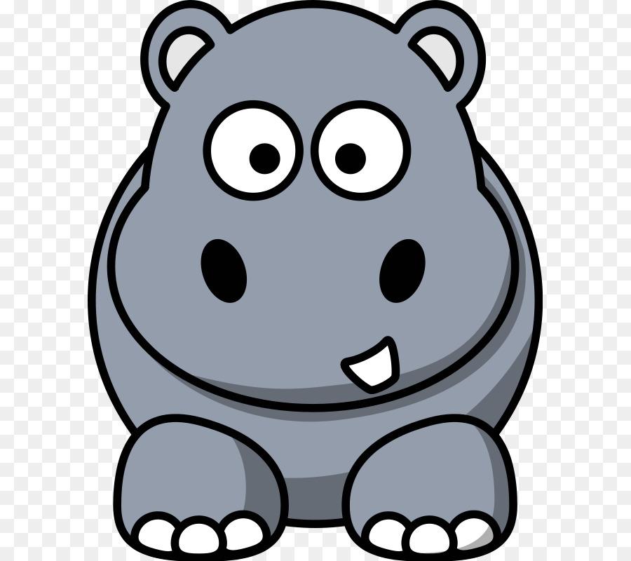 cartoon hippopotamus clip art cute animals cartoon png download rh kisspng com hippopotamus clipart free images hippopotamus clipart