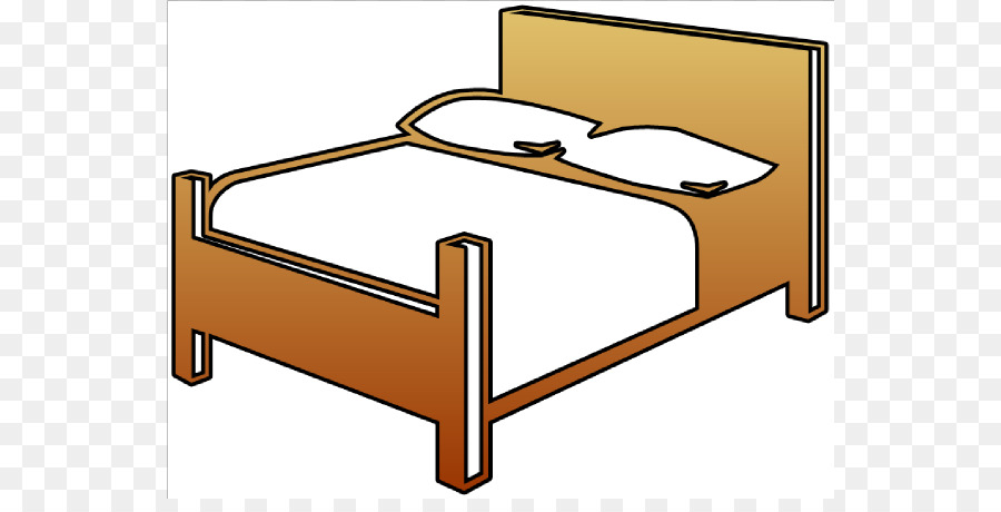 Bed Frame Bedroom Clip Art Bed Cliparts Png Download 600 448