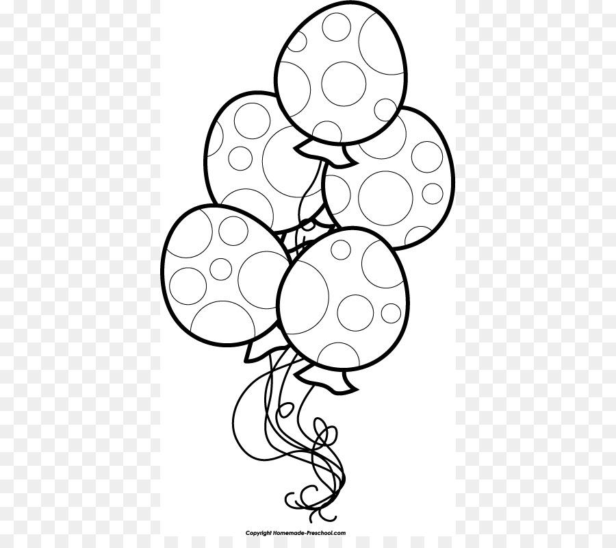 Geburtstag Kuchen Schwarze Und Weisse Ballon Clipart Schwarz Und
