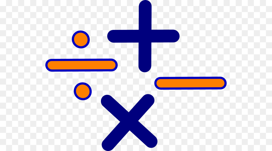 Mathematics Multiplication Algebra Clip art - Cartoon Math Symbols
