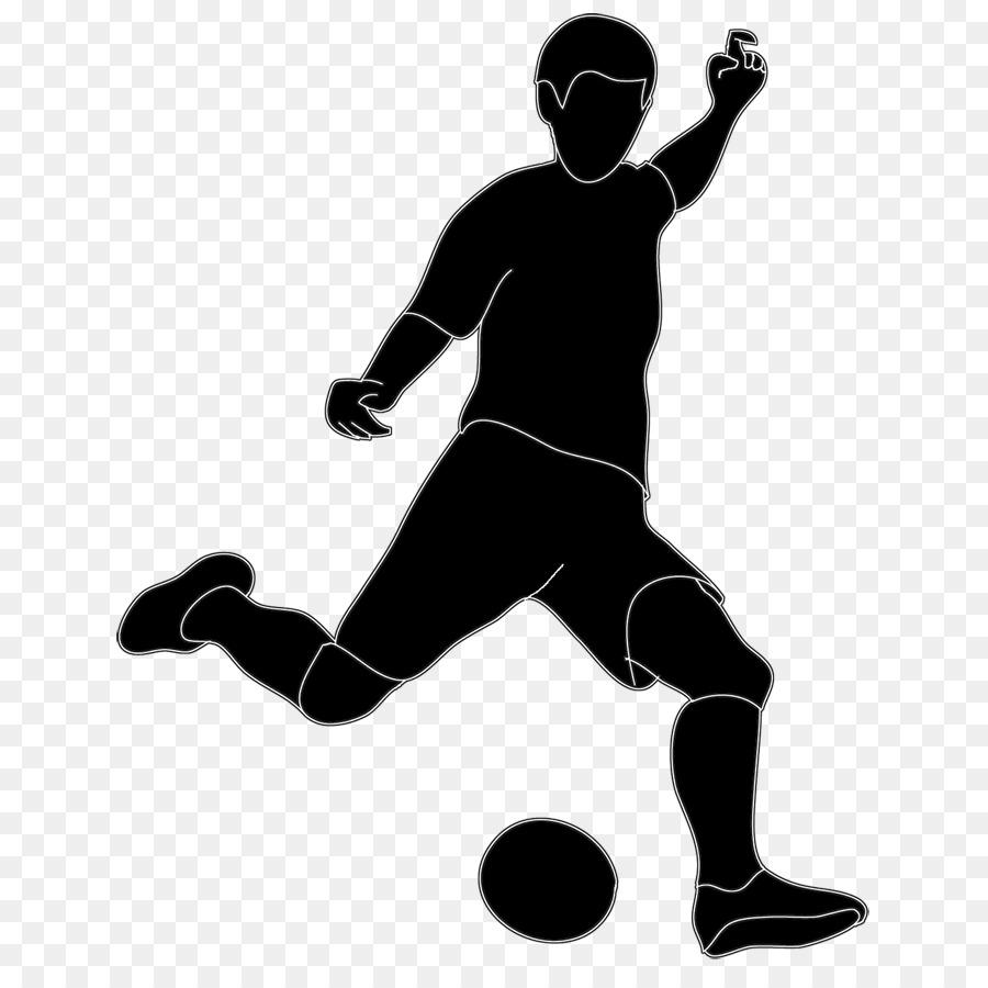silhouette football sport clip art kickball cliparts png download rh kisspng com football player clip art images football player clipart black and white