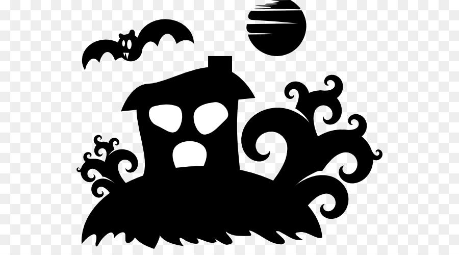 the halloween tree silhouette clip art creepy house pictures