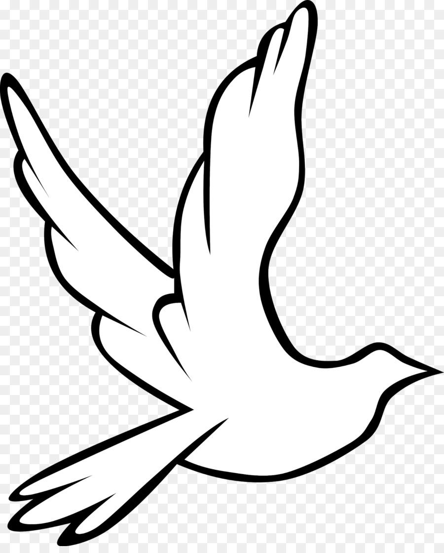 Columbidae Doves As Symbols Holy Spirit In Christianity Clip Art