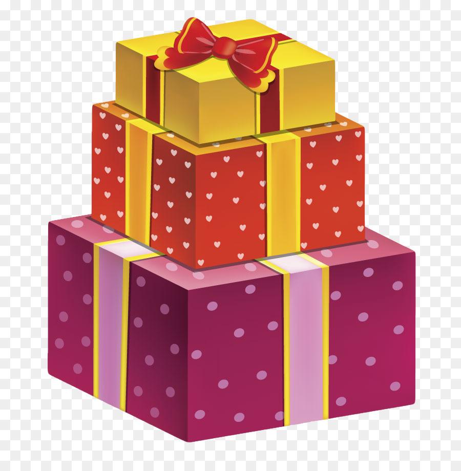 Christmas Gift Birthday Gift Box Png Download 850 907 Free