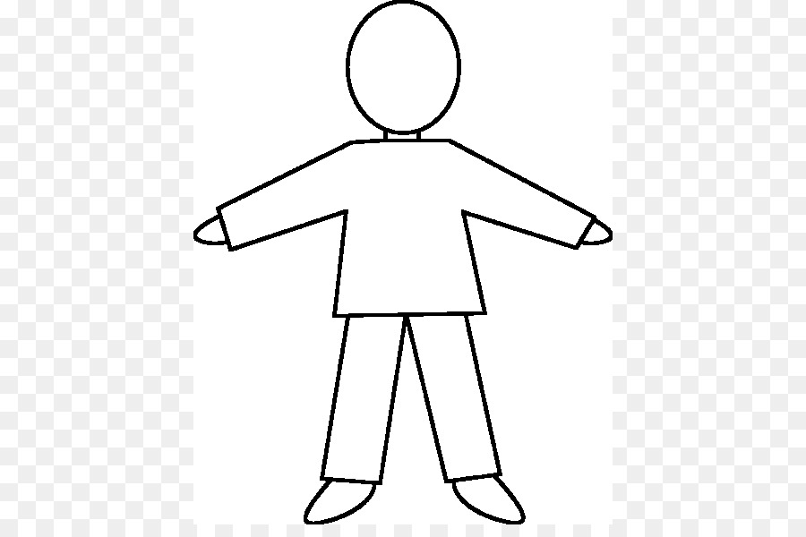 Human Body Homo Sapiens Clip Art Blank Eye Diagram Png Download
