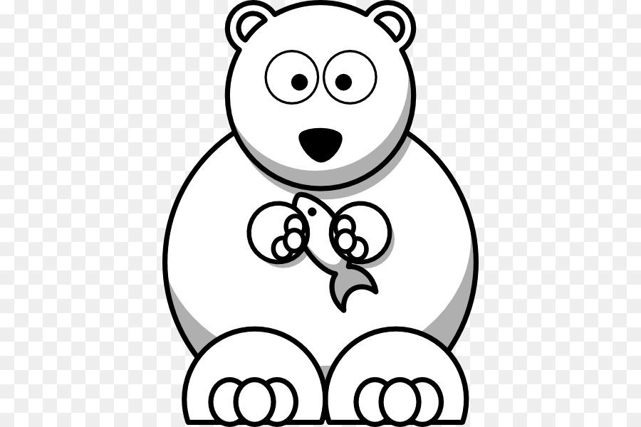 Kutup Ayısı Karikatür Küçük Resim Ayı Anahat Png Indir 444600