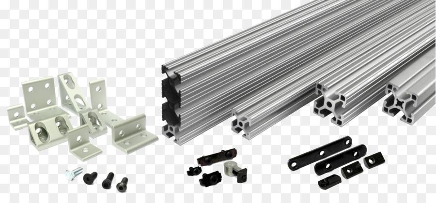 Extrusion 80/20 Aluminium T-slot nut Framing - Aluminum Transparent ...