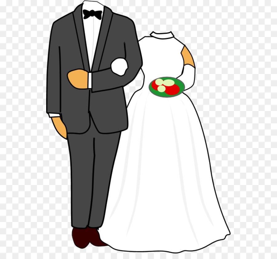 Wedding invitation Bridegroom Clip art - Bride Cliparts png download ...