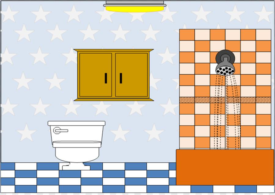 Badezimmer, Öffentliche WC Clipart   Bad Hintergrund Cliparts