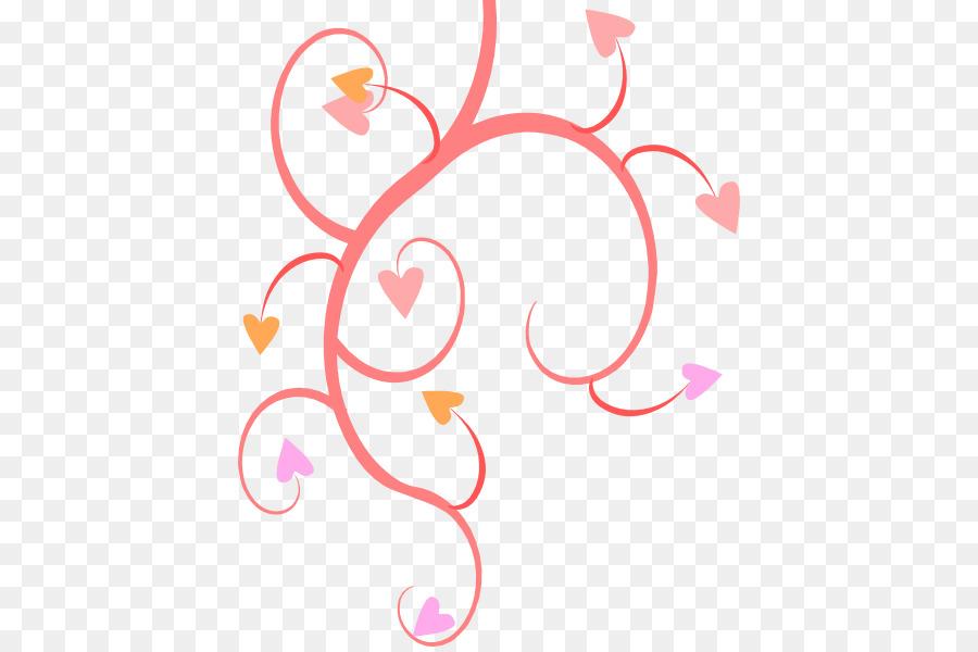 Flower Heart Clip Art