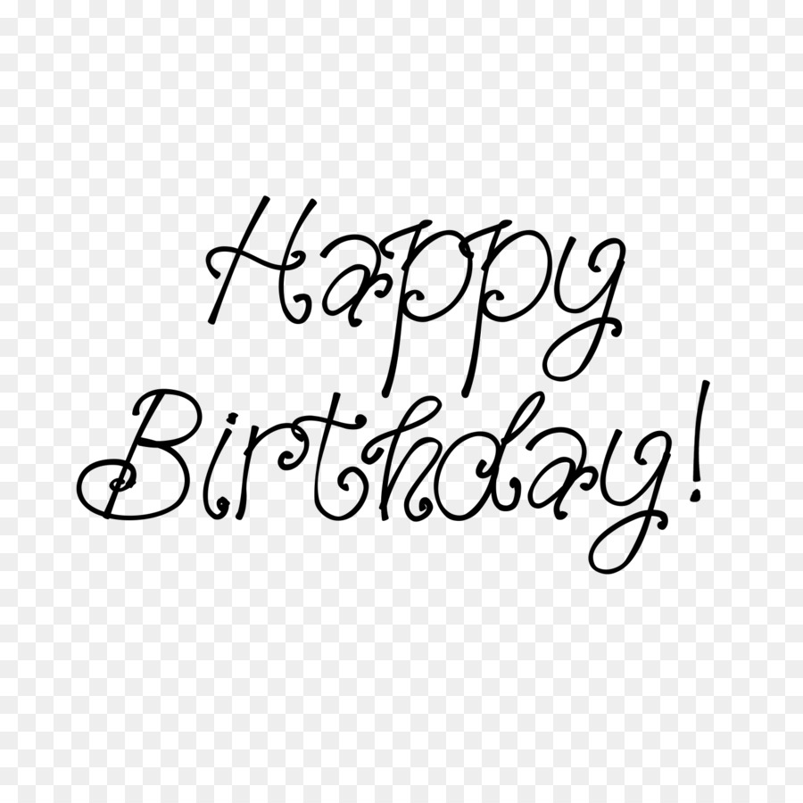 Scalable Vector Graphics Birthday Font