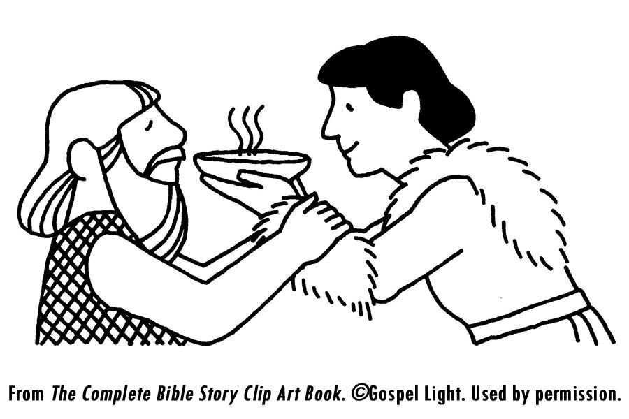 Jacob y Esaú libro para Colorear de la Biblia Jacobs Ladder Niño ...