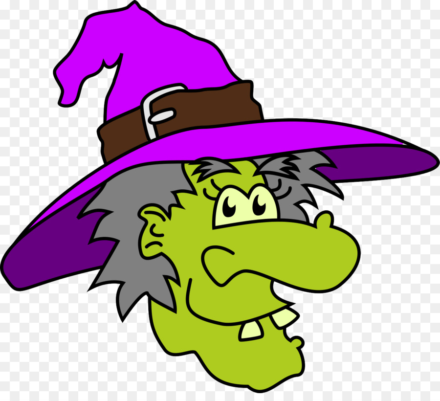 Halloween Cartoon Witch Face.Halloween Cartoon Background Png Download 1344 1200 Free