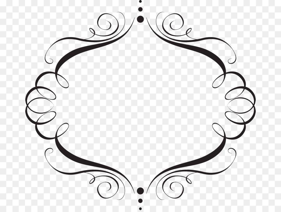 Wedding Invitation Idea Clip Art Elegant Frame Cliparts Png
