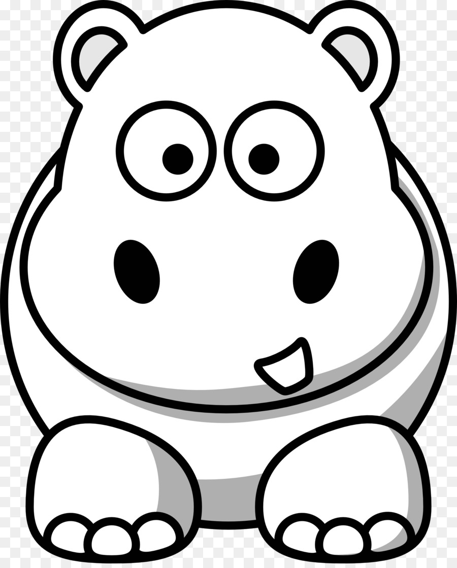 animal cuteness black and white clip art cute hippo cliparts png rh kisspng com hippo clipart png hippo clip art printable