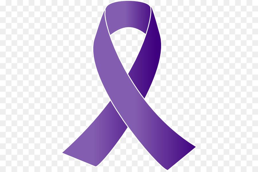cancer awareness ribbon purple ribbon clip art free