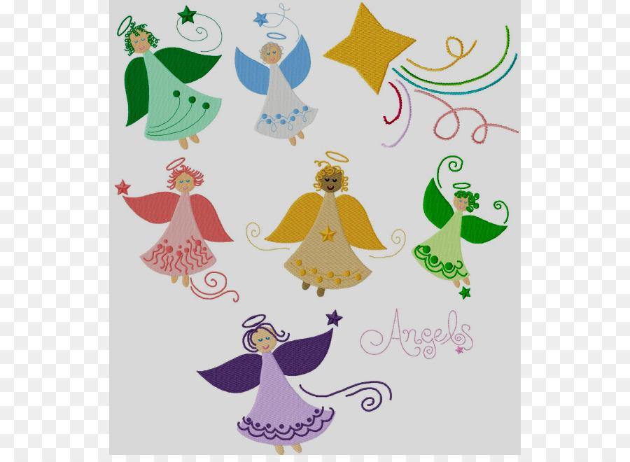 Stickerei Engel Clip Art Whimsical Engel Cliparts Png