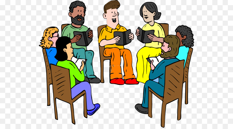 SBI PO Exam Discussion Group Book Discussion Club Clip Art   Praying Group  Cliparts
