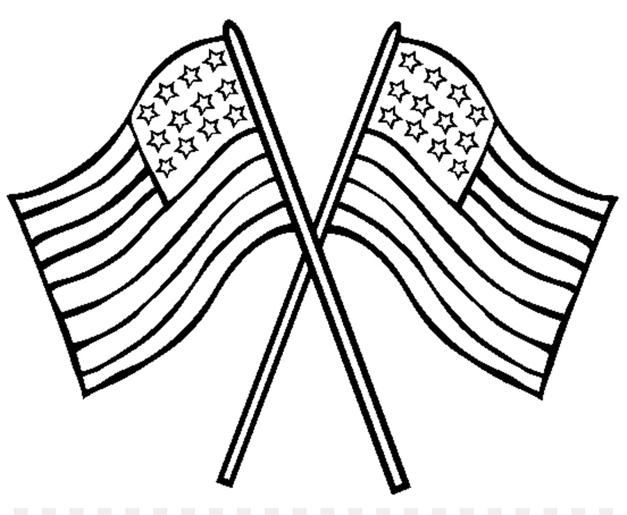 Flag of the United States Coloring book Memorial Day Flag Day - Flag ...