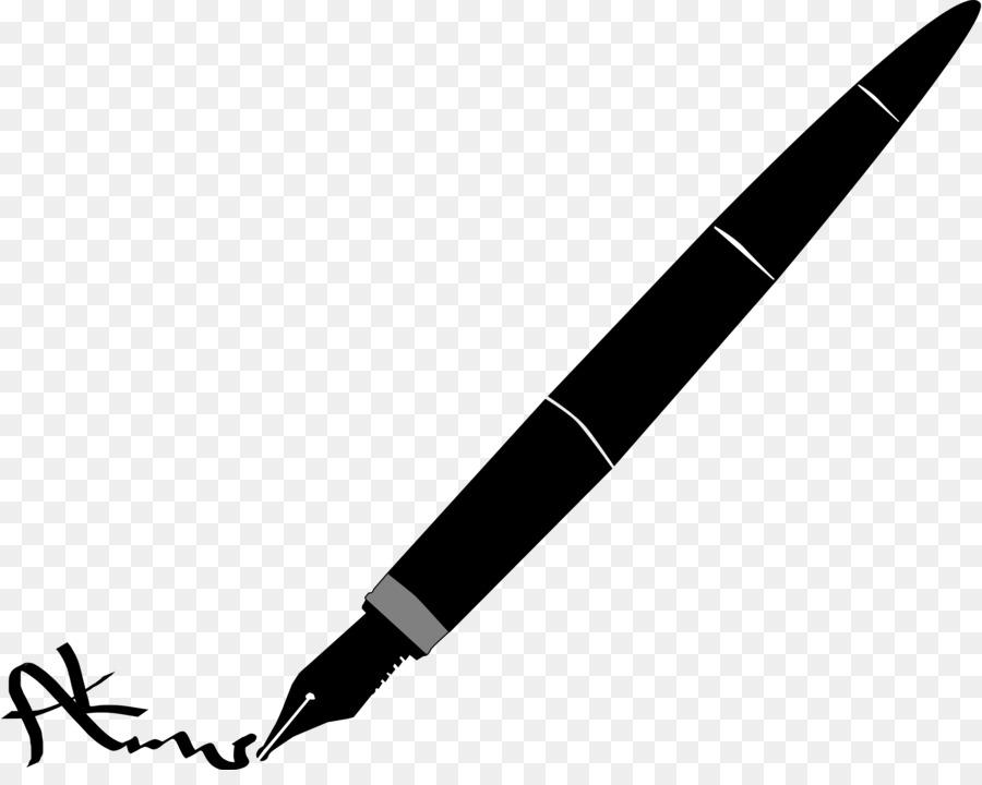 fountain pen paper clip art pens cliparts png download 2400 1883 rh kisspng com Quill Pen Quill Pen