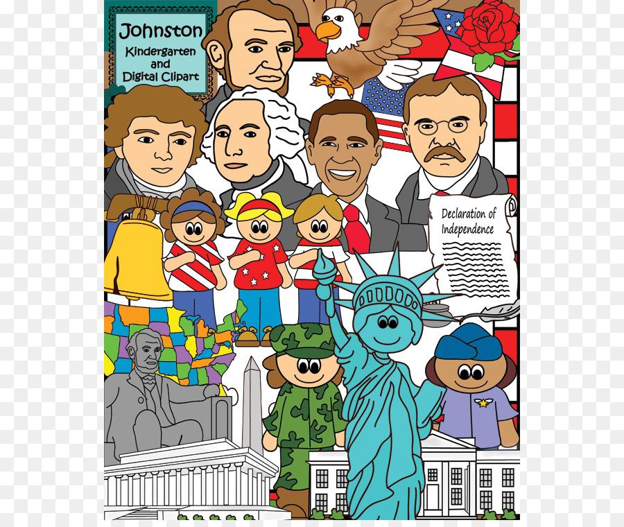Abraham Lincoln United States Symbol Presidents Day Clip Art
