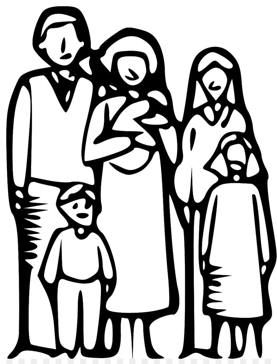 family black and white clip art happy family clipart png download rh kisspng com family clipart black and white free black family clipart