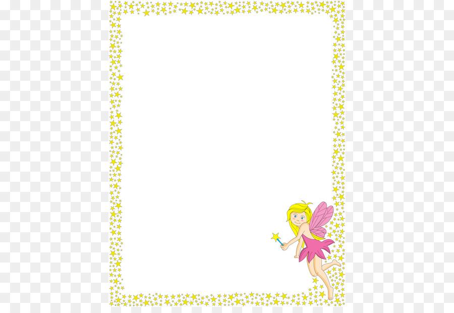 Flower Page Border png download - 470*608 - Free Transparent