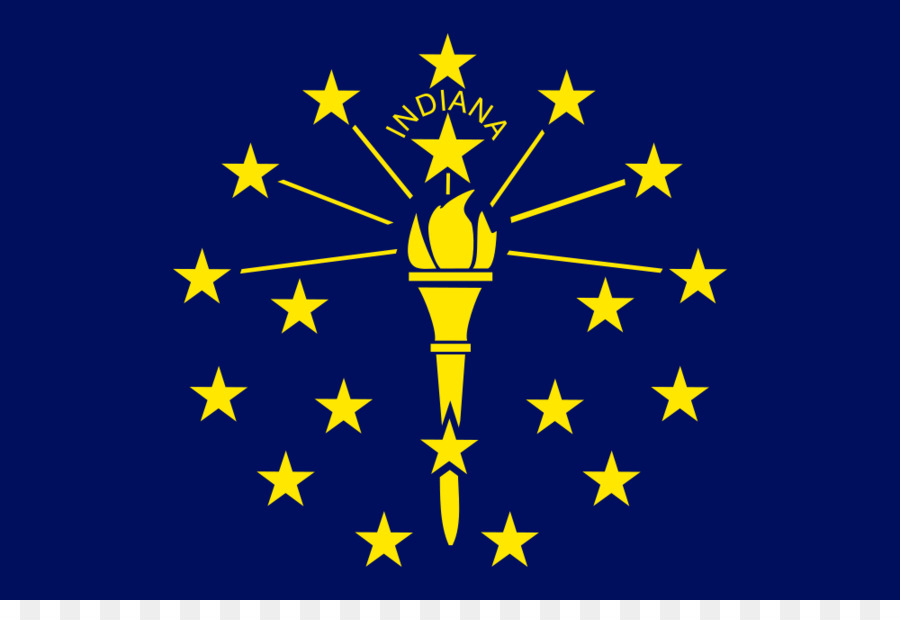 Flag Of Indiana State The United States