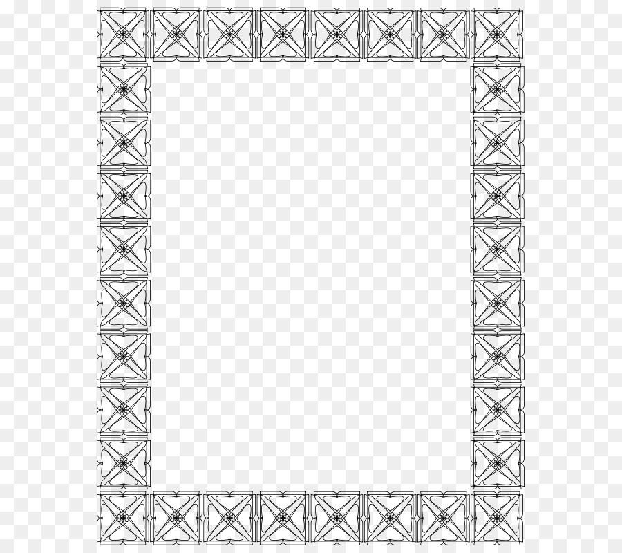 Picture frame Mirror Clip art - Frame Outline Cliparts png download ...