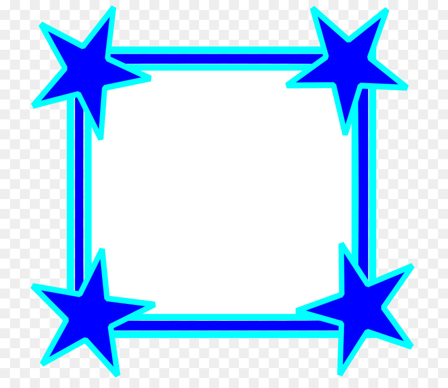 Blue Star Clip art - Star Frame Cliparts png download - 800*779 ...