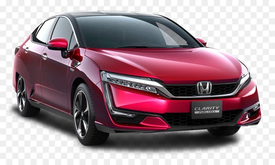 Honda FCX Clarity Honda Civic Hybrid Car Electric Vehicle   Red Honda  Clarity Car