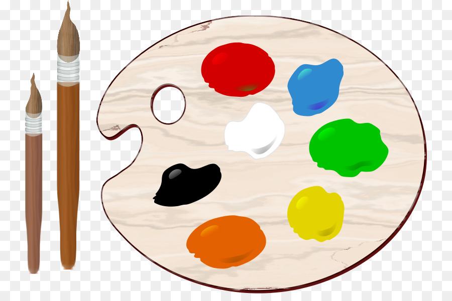 Palette Painting Color Clip art - Paint Palette Cliparts ...