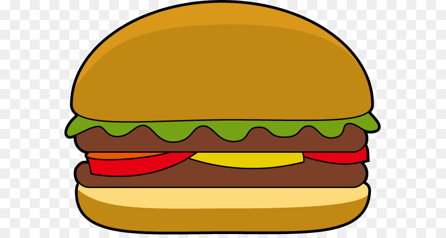 hamburger cheeseburger veggie burger cartoon clip art burgers rh kisspng com burger clipart black and white bürger clipart