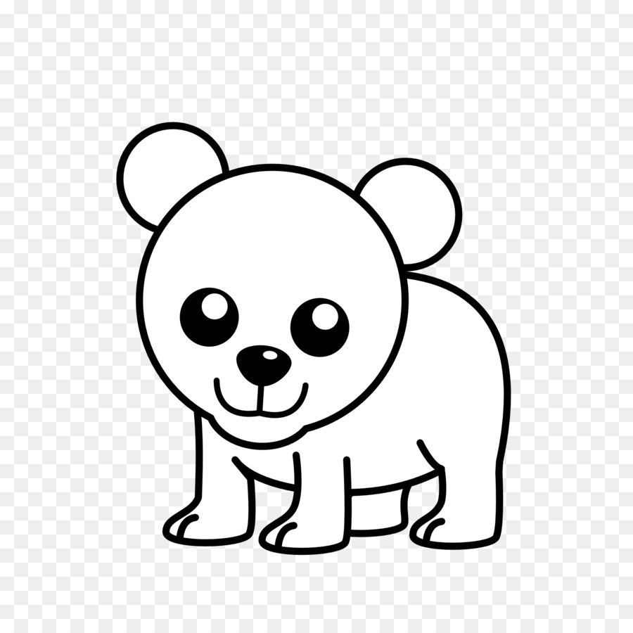 polar bear american black bear koala clip art cub cliparts png rh kisspng com black bear cub clipart black bear cub clipart