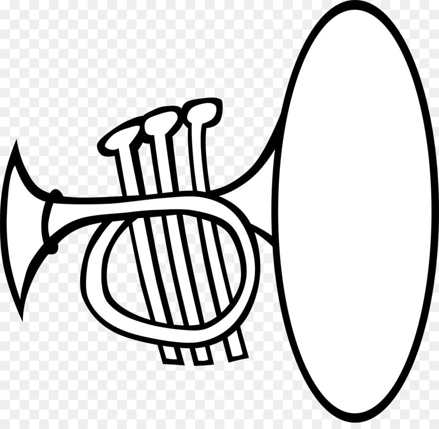 trumpet clip art trumpet cliparts png download 2555 2461 free rh kisspng com Tuba Clip Art Black and White Brush Clip Art Black and White