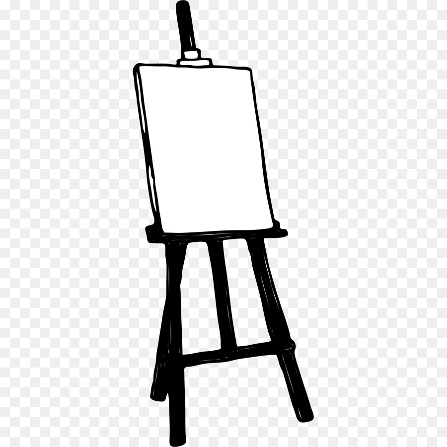 art easel painting clip art easel cliparts png download 365 900 rh kisspng com