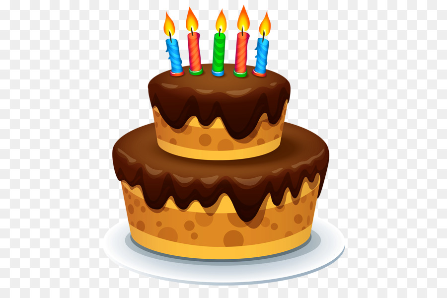 Birthday cake Chocolate cake Candles PNG Photos png download 517