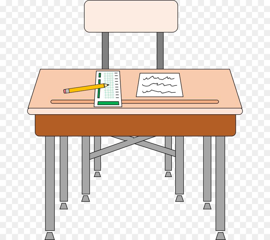 Desk Student Table Clip Art Class Desk Cliparts Png