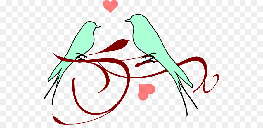 lovebird clip art birds wedding cliparts png download 600 428 rh kisspng com love bird logo clipart love bird clipart silhouette