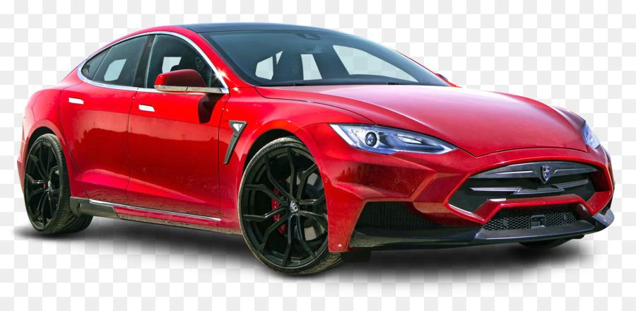 2017 Tesla Model S 2018 Motors Car 3 Red Png 1950 917 Free Transpa