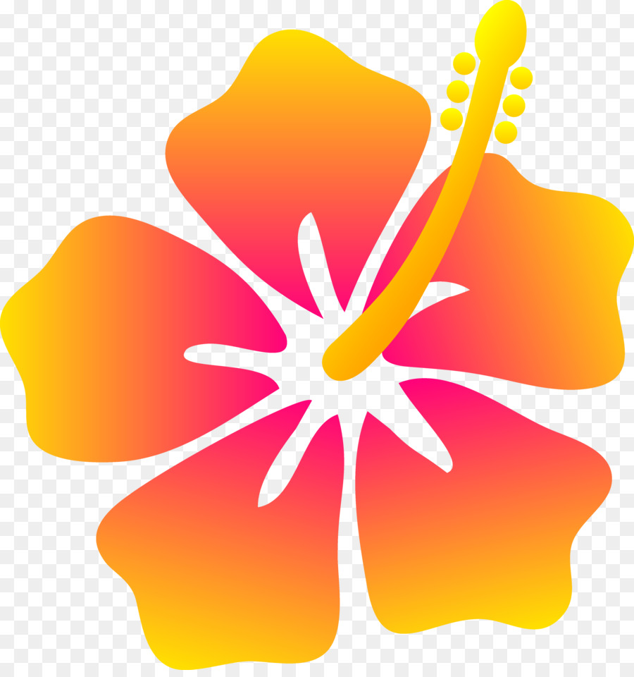 Hawaiian Flower Drawing Clip Art Hawaiian Cliparts Png Download