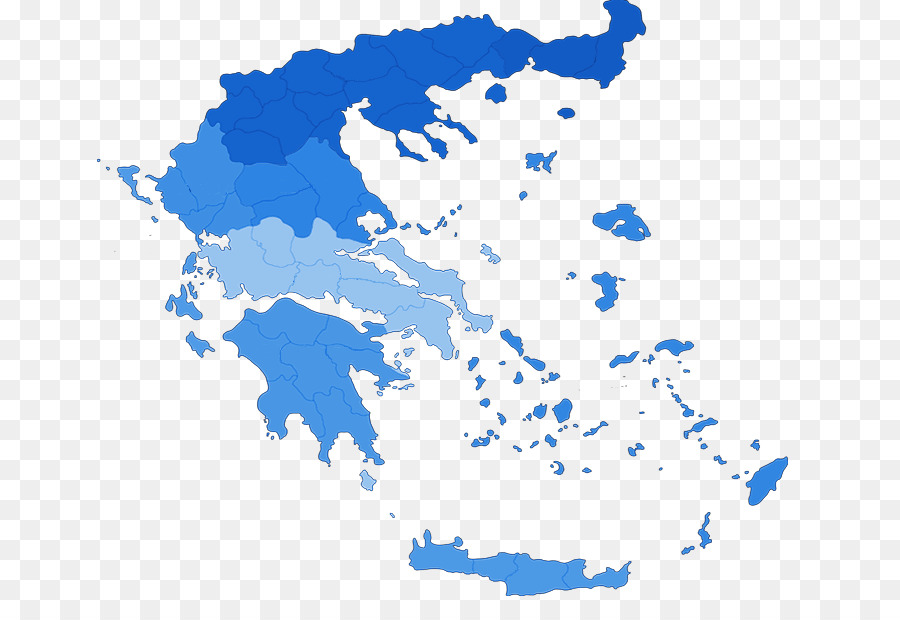 Greece Vector Map Illustration - Greece PNG Pic png download - 710 ...