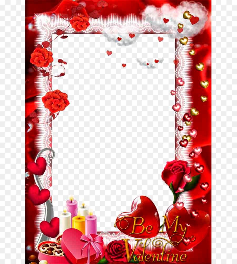 Love Picture frame - Love Frame PNG Transparent png download - 707 ...