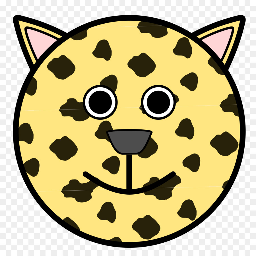 Kedi Gülen Yüz Boyama Kitabı Leopar Kafa Fotograflardan Png Indir