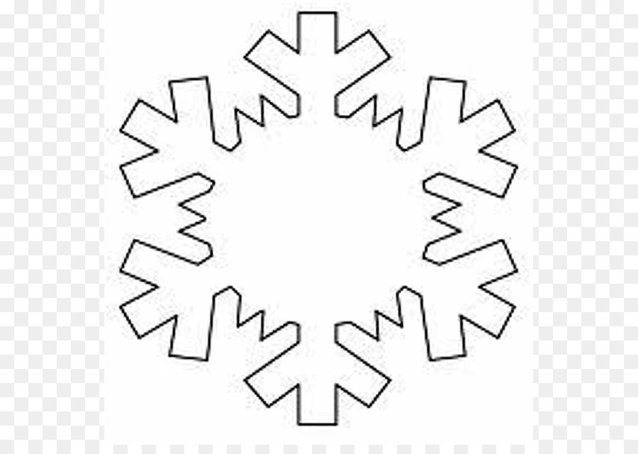 101 Snowflakes Template Shape Pattern - Cliparts Snowflake Patterns ...